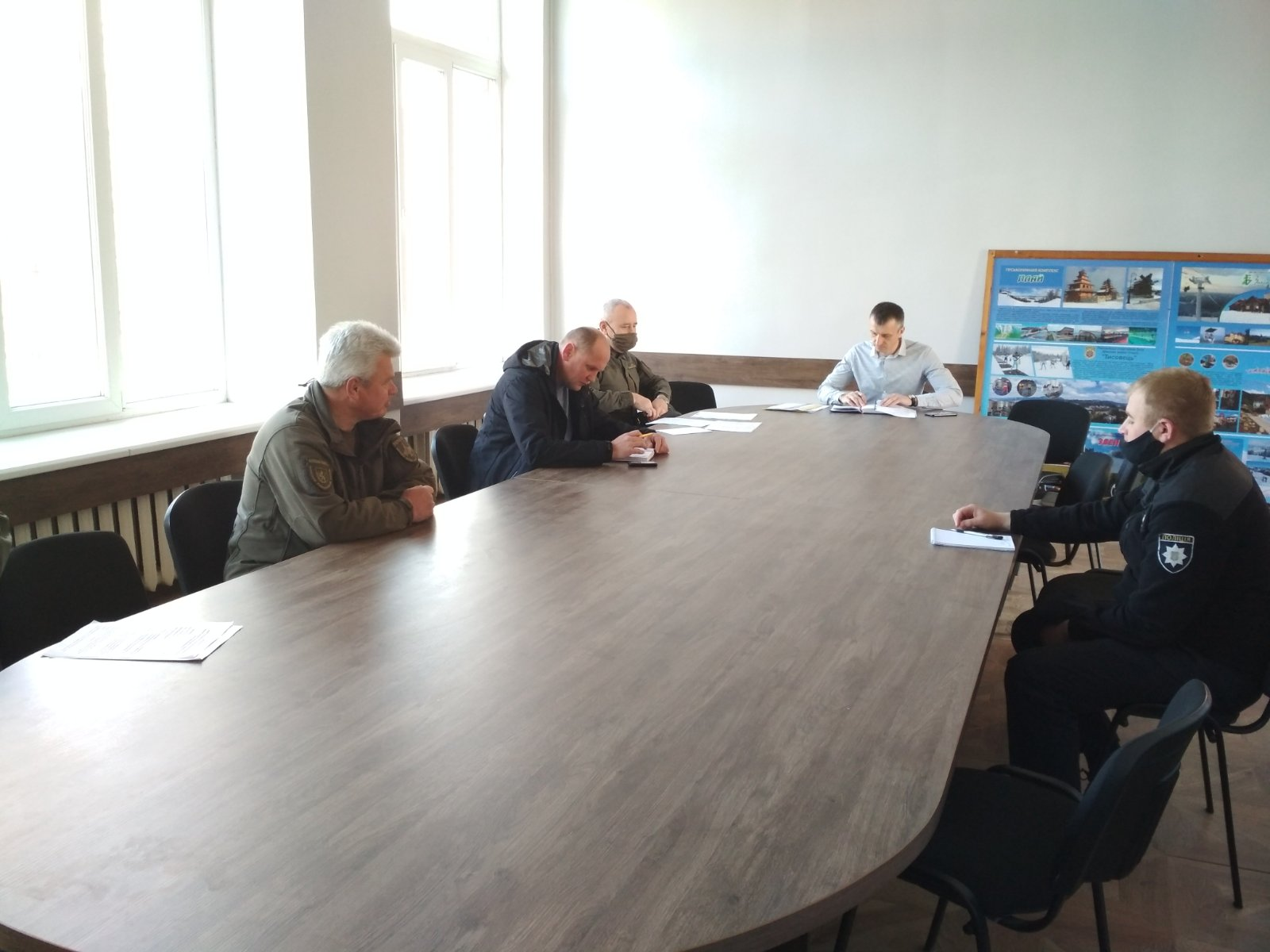 Робоча нарада щодо ходу виконання розпорядження голови Львівської ОДА №215/0/5-20 від 26.03.2020