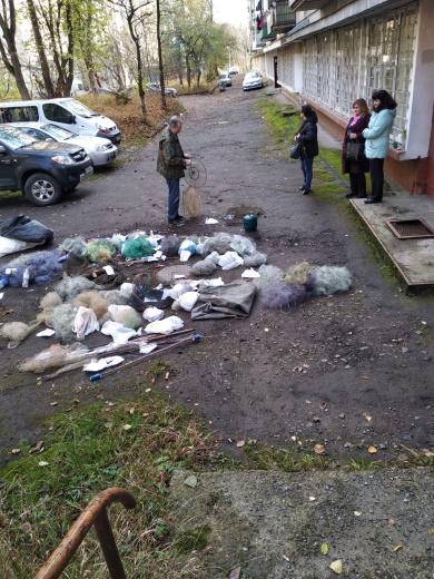 На Львівщині утилізовано понад 700 метрів сітних знарядь лову